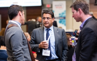 Dr. Shaf Keshavjee at the Medicine by Design symposium in November 2016