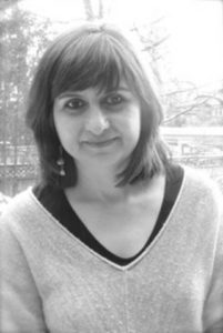 Head shot of Mira Puri, manager of research partnerships at CCRM.