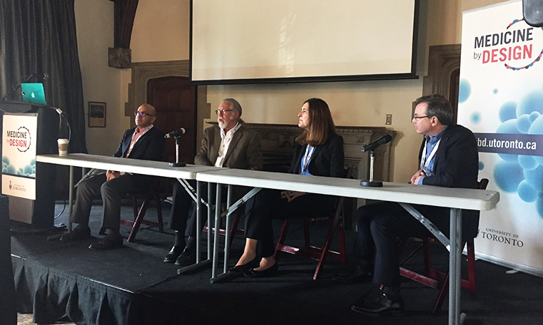 Panel discussion with four key members of the team behind the creation of BlueRock Therapeutics.