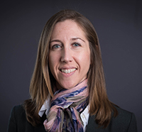 Head shot of Penney Gilbert, assistant professor at the Institute of Biomaterials & Biomedical Engineering