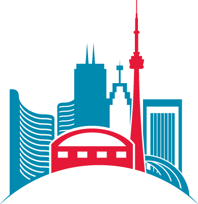 Toronto skyline icon