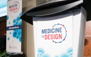 Medicine by Design Symposium Podium