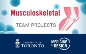 Medicine by Design Musculoskeletal Team Project icon