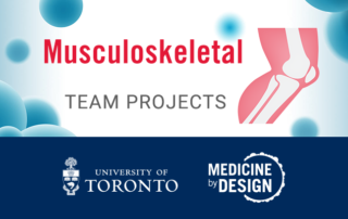 Medicine by Design Musculoskeletal Team Project icon