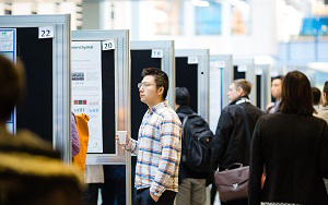 Poster session at 2017 Medicine by Design symnposium