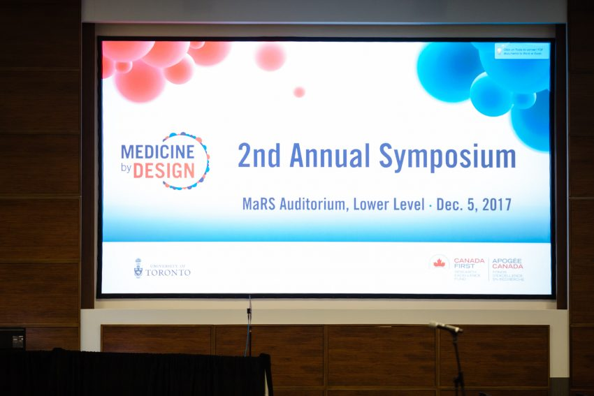 Photo from Medicine by Design symposium