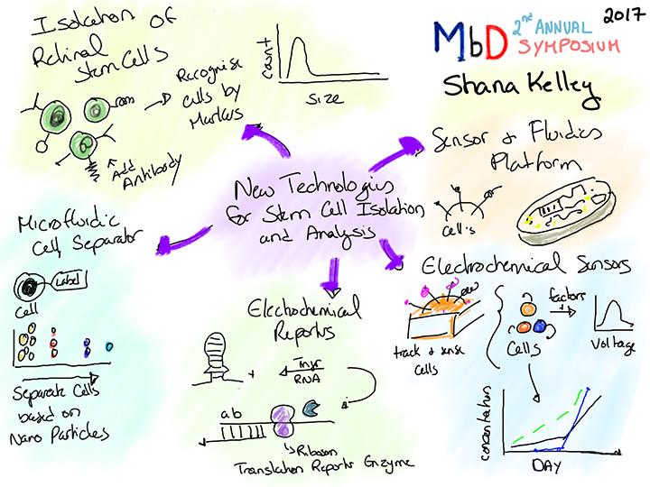 Shana Kelley talk drawing