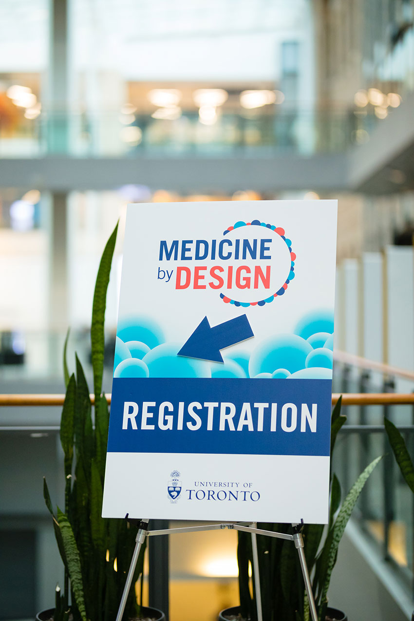 The third annual Medicine by Design symposium was held at the MaRS auditorium in downtown Toronto.