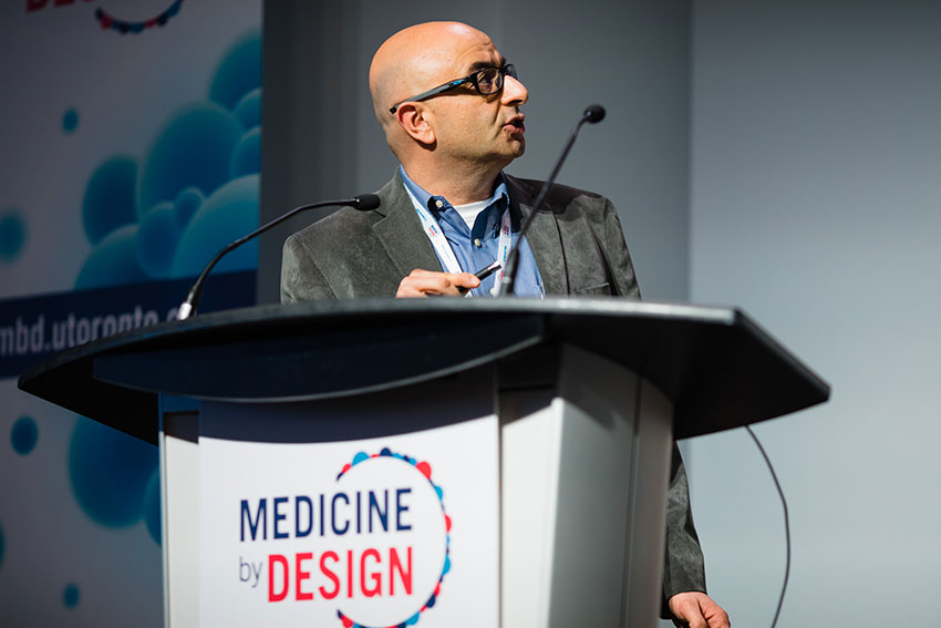 Alain Dabdoub from Sunnybrook Research Institute gives a talk on endogenous regeneration of auditory neurons for the treatment of hearing loss.
