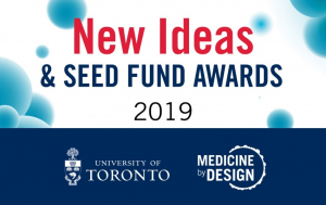 New Ideas & Seed Fund Awards 2019