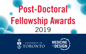 Post-Doctoral Fellowship Awards 2019