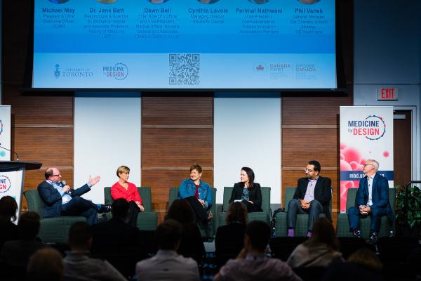 Photo of panel discussing translation of regenerative medicine.
