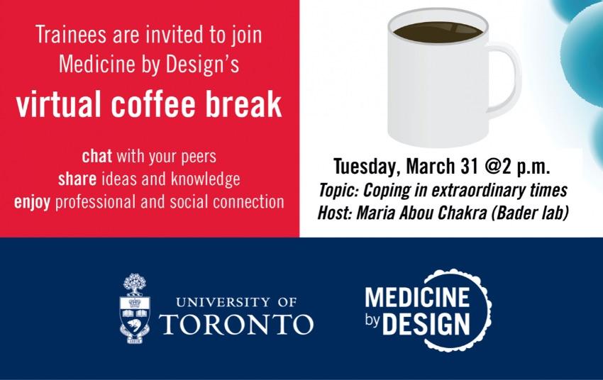 Virtual Coffee Break March 31