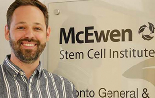 Blair K. Gage, post-doctoral fellow at the McEwen Stem Cell Institute at UHN