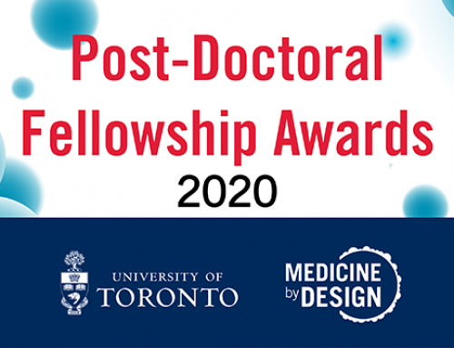 Meet Medicine by Design's 2020 Post-Doctoral Fellowship Award winners