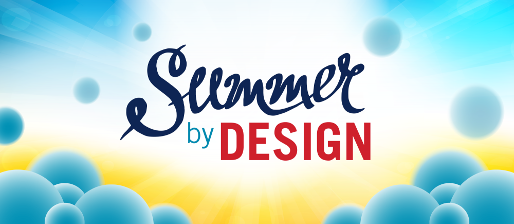 Summer by Design logo and banner
